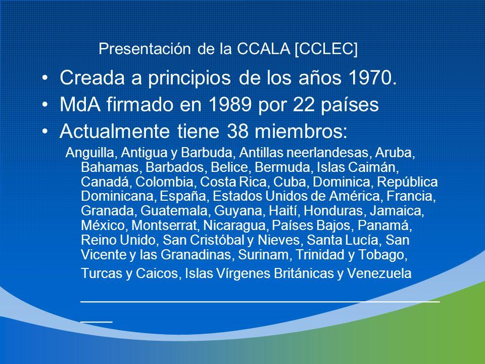 Presentación de la CCALA [CCLEC]